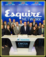 Ringing the Nasdaq Bell in honor of Esquire Network's launch of Friday Night Tykes (Season Three)